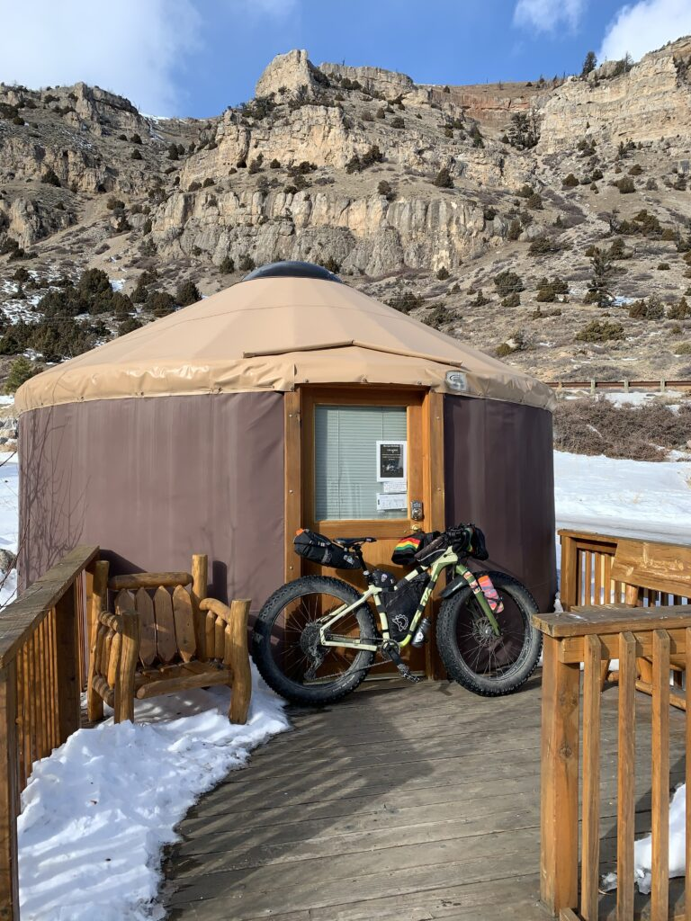 Sinks Canyon State Park yurt