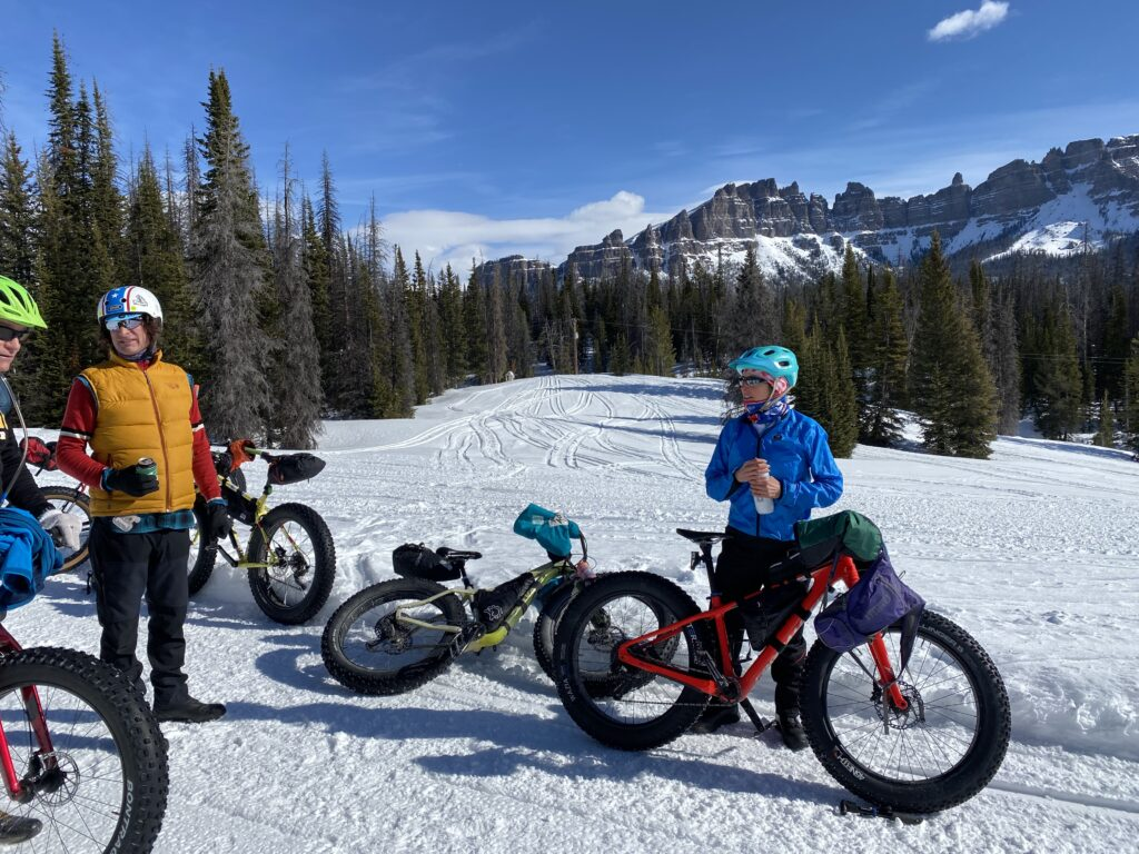 Togwotee Winter Classic Fat Bike Race 2020 in Wyoming