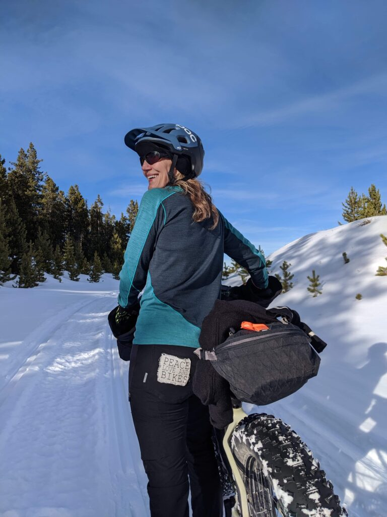 Fat biking pants