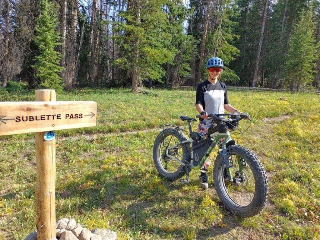 Great Divide Trail testing Mons Royal Jersey